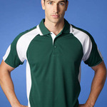 Cool-Dry Contrast Polo