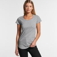 Ladies Scoop Neck Tshirt Thumbnail