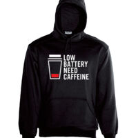 Low Caffine - Adults Hoodie Thumbnail