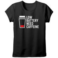 Low Caffine - Ladies Fitted T-shirt Thumbnail