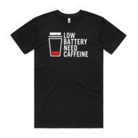 Low Caffine - Mens T-shirt Thumbnail