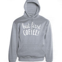 First COFFEE - Adults Hoodie Thumbnail